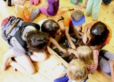Program Mazlíci a havěť pro návštěvníky kempu