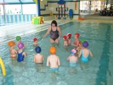 Plavání únor - březen