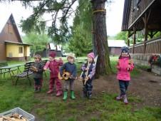 Konzert školkového hudebního seskupení