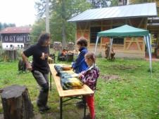 Oslavy Dne stromů v Arboretu Bukovina