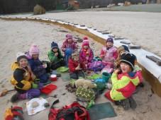 Lednový piknik...