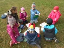 předškoláci v akci