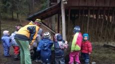 Zkoumáme co mají v lese ke sváče
