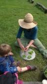 Do kuskusu se zeleninou jsme si našli i nějaké divoké bylinky.