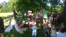Společně s rodiči jsme si užili piknik jak se patří.