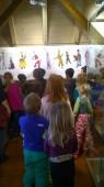 Předškoláci na výletě - část muzejní, Masopustní tradice.
