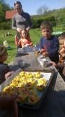 A slavímee - mňam ty muffiny.