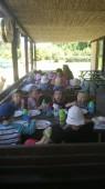 Cestu zpět jsme bez problému zvládli především díky vynikajícím ovocným knedlíkům k obědu :)