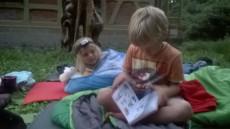 Zuby, záchod a hurá na pohádky - od každého z předškoláků kousek jeho oblíbené knížky.