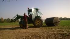 A po jízdě na koních na nás čekal ještě traktor!
