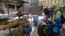 Výprava na vánoční trhy v Jablonci nad Nisou.