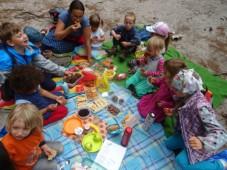 piknikujeme, máme svátek!