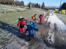 užíváme ledových hrátek